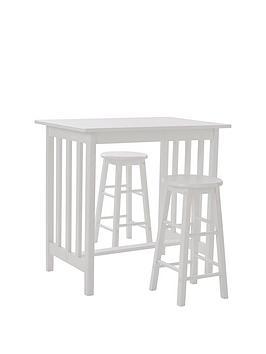 c808a7a364e Rachel 90 Cm Bar Table 2 Bar Stools