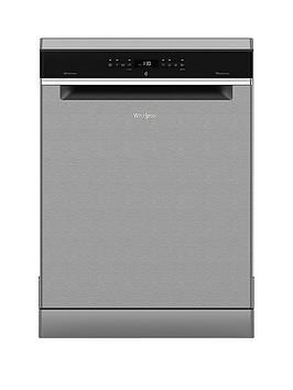 Whirlpool   Wfo3P33Dlx 14-Place Dishwasher With Quick Wash, 6Th Sense, Power Clean Pro And Power Dry - Stainless Steel