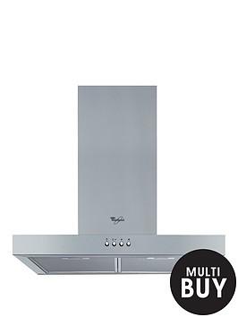 whirlpool-akr5582ukix-60cm-built-in-t-box-cooker-hood-stainless-steel
