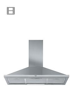 whirlpool-akr590ukix-90cm-built-in-pyramid-cooker-hood-stainless-steel