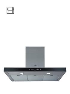 whirlpool-akr758ukixl-90cm-built-in-t-box-cooker-hood-stainless-steelblack