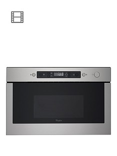 whirlpool-absolute-amw439ix-built-in-microwave-stainless-steel