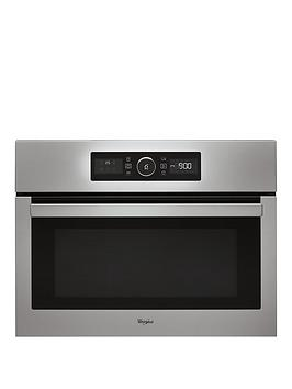 whirlpool-absolute-amw515ix-built-in-microwave-stainless-steel