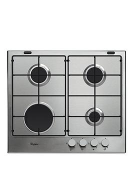 whirlpool-absolute-gma6411ix-built-in-gas-hob-stainless-steel