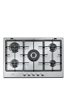 Whirlpool Absolute Gma7522Ix BuiltIn Gas Hob  Stainless Steel