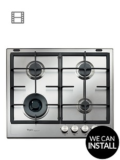 whirlpool-fusion-gmf6422ixl-built-in-gas-hob-with-optional-installation-stainless-steel