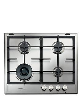 Whirlpool Fusion Gmf6422Ixl BuiltIn Gas Hob  Stainless Steel