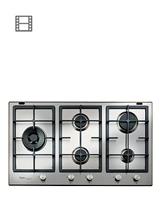 whirlpool-fusion-gmf9522ixl-built-in-gas-hob-stainless-steel