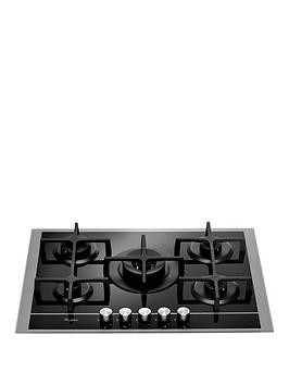 Whirlpool Gof7523Ns BuiltIn Gas Hob  Stainless SteelBlack