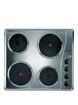 Whirlpool Akm332Ix BuiltIn Electric Hob  Stainless Steel