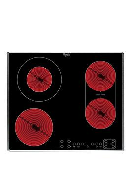 Whirlpool Akt8700Ix BuiltIn Ceramic Hob  Black