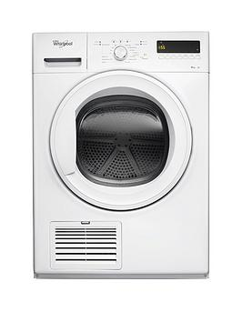 whirlpool-ddlx80114-8kg-load-condenser-tumble-dryer-white