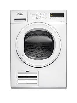 Whirlpool Ddlx90110 9Kg Load Heat Pump Tumble Dryer  White