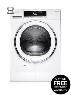 whirlpool-supreme-care-hscx90423-9kg-load-heat-pump-tumble-dryer-white