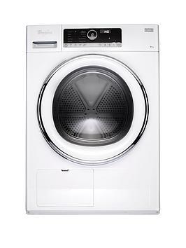 whirlpool-supreme-care-hscx90423-9kgnbspload-heat-pump-tumble-dryer-white