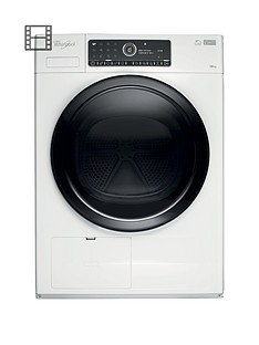 whirlpool-supreme-care-premium-hscx10441-10kg-load-heat-pump-tumble-dryer-white