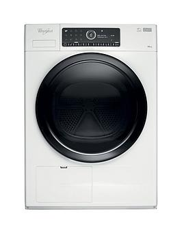 Whirlpool Supreme Care Premium Hscx10441 10Kg Load Heat Pump Tumble Dryer  WhiteWith 5Year Free Extended Warranty
