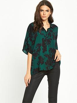 vila-abstract-floral-blouse-ponderosa-pine