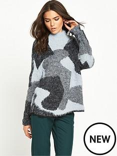 vila-camo-print-knit