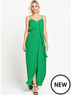 river-island-button-down-split-front-maxi-dress