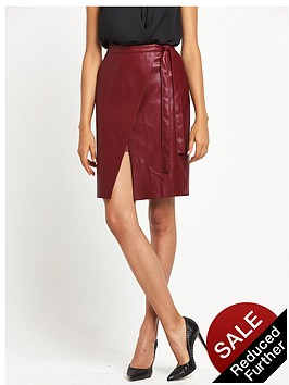 river-island-leather-look-wrap-skirt