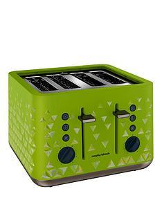 Morphy Richards Prism 4 Slice Toaster Green