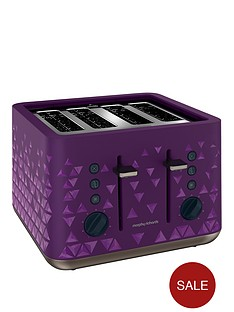 morphy-richards-prism-4-slice-toaster-purple