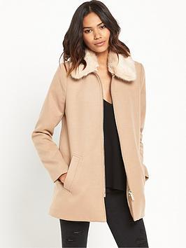 river-island-faux-fur-collar-coat