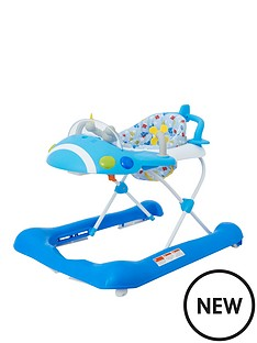 mothercare-plane-walker-blue
