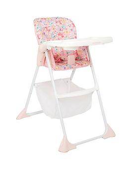 mothercare-fairground-highchair-pink