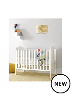 mothercare-darlington-cot-bed-white