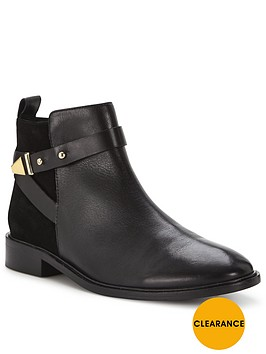 office-ace-cross-strap-ankle-boot