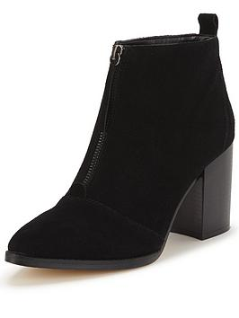 office-ally-block-heel-studded-ankle-bootnbsp