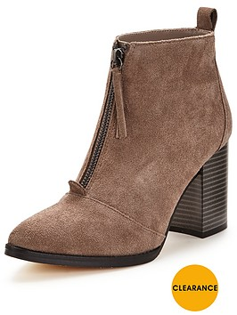 office-ally-block-heel-suded-ankle-boot