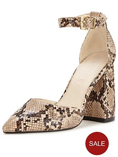 office-sharp-two-part-block-heel-sandal