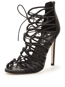 office-sage-caged-heeled-sandal