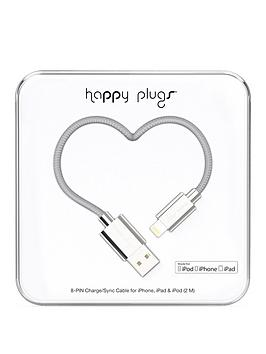 happy-plugs-deluxe-lightning-to-usb-chargesync-cable-20m-silver