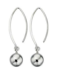 elements-sterling-silver-ball-drop-hook-earrings