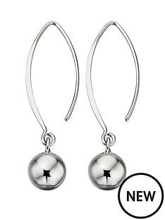 elements-sterling-silver-ball-drop-hook-earrings