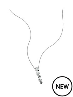elements-sterling-silver-cubic-zirconianbspgraduated-necklace
