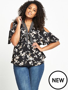 lost-ink-curve-cold-shoulder-top