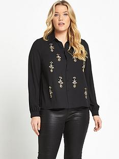 lost-ink-curve-shirt-with-embellishment
