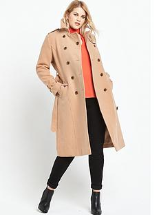 lost-ink-curve-belted-trench-in-wool-mix