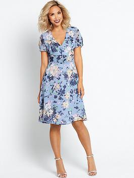 myleene-klass-floral-printed-tea-dress