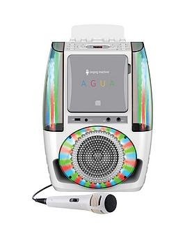 The Singing Machine Sml605  Agua White