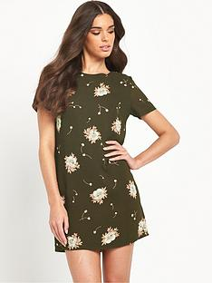 glamorous-floral-shift-dressnbsp