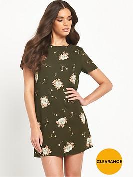glamorous-floral-shift-dressnbsp