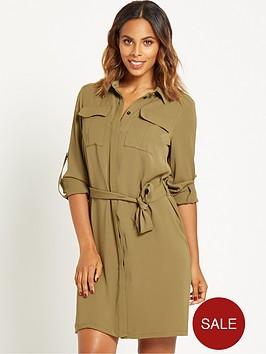 rochelle-humes-utility-shirt-dress