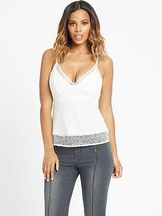 rochelle-humes-all-over-lace-camisole