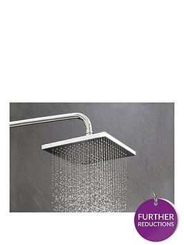 triton-kelsey-fixed-shower-head-chrome